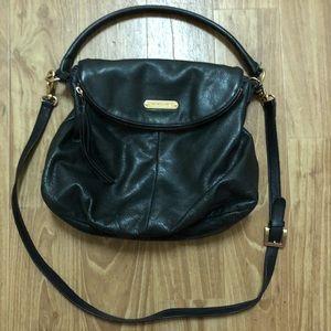 Cynthia Rowley 2-Strap Leather Foldover Bag